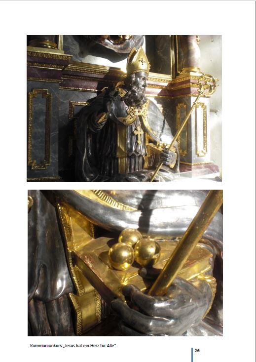 Kommunionkurs: Jesus hat ein Herz für Alle, Nikolaus Kirche Spalt