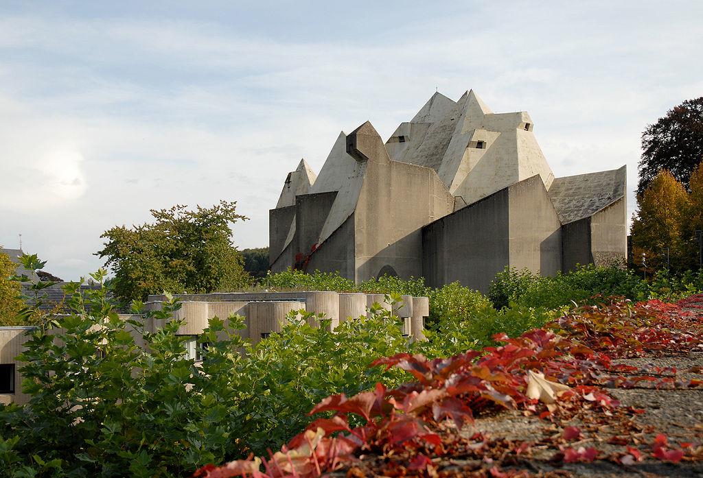 Neviges, Wallfahrtsdom, Wikipedia von Flickr,  seier + seier
