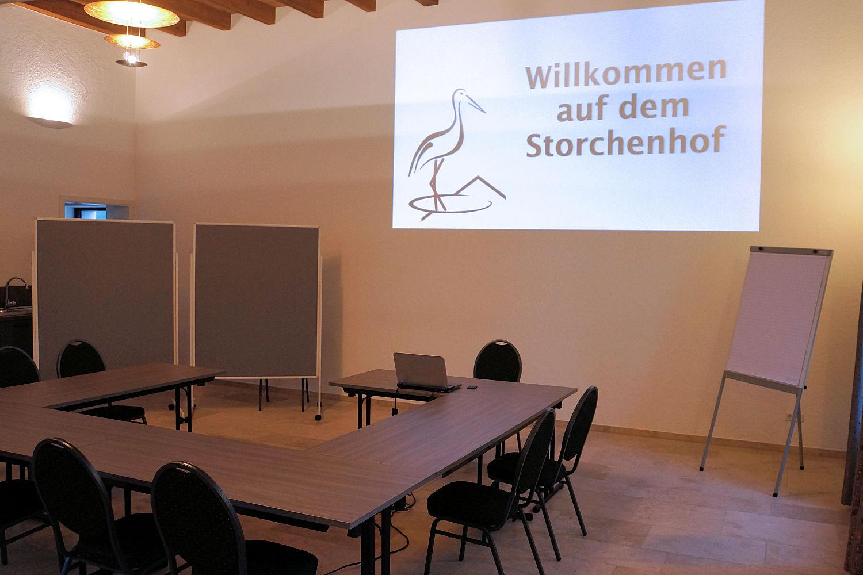 Setup Seminar 8 Teilnehmer