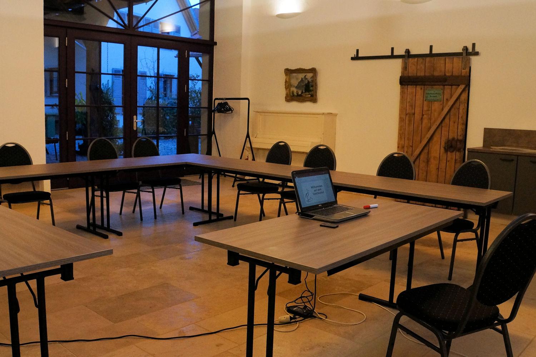 Setup Seminar 12 Teilnehmer