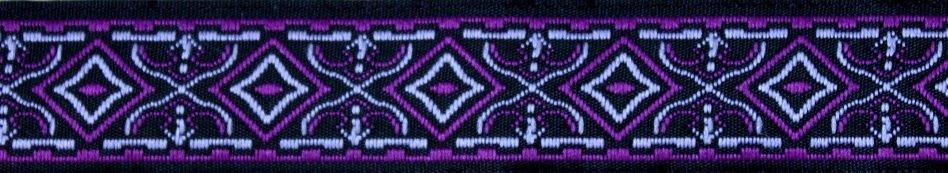 Waldelf lila-schwarz-silber