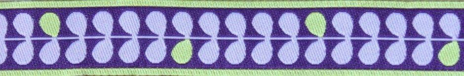 Blätter 1-2-3 lila