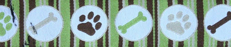 Doggy stripes grün
