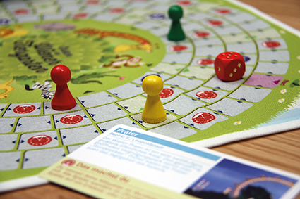 Familienspiel: Alle wollen in den Wiener Tiergarten