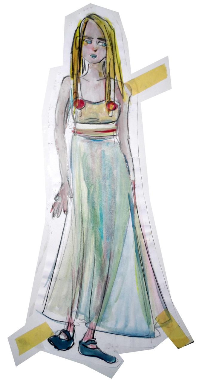 Entwurf zu Das Fest des Lamms (Leonora Carrington)