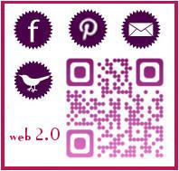 Contacts, Facebook, Pinterest ...