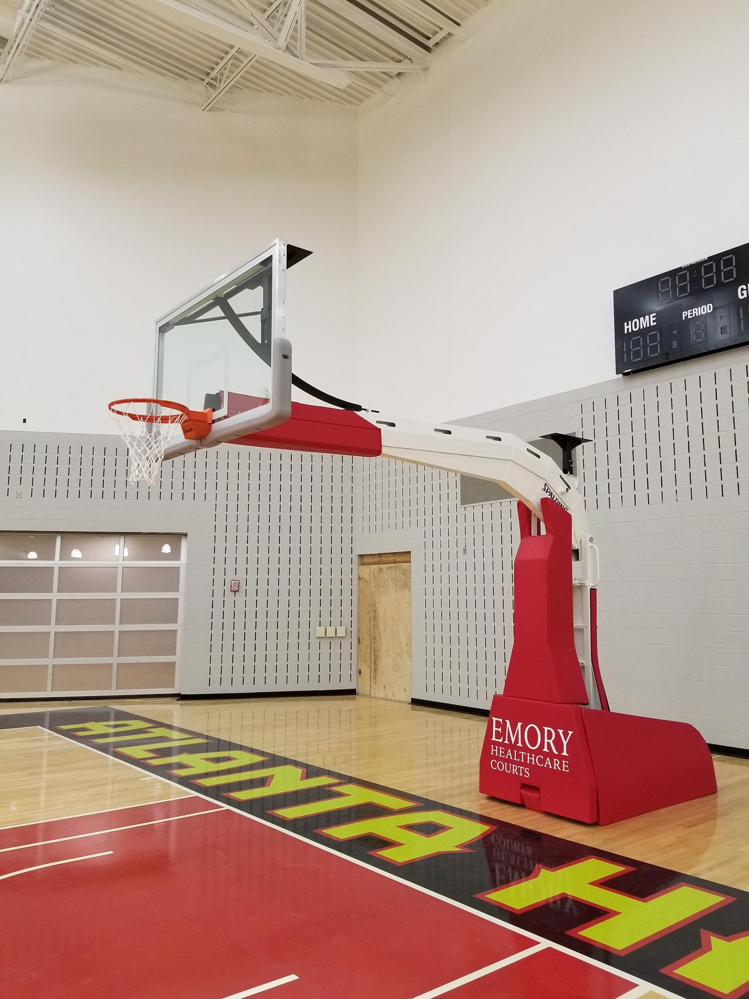 Atlanta Hawks Spalding Renegade Side View
