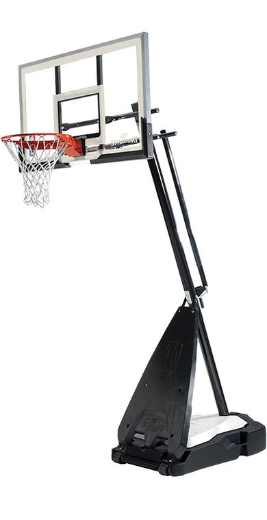 Spalding Ultimate Hybrid, Residential Basketball Goal