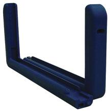 "Spalding® bolt-on backboard padding for 183cm (72"") backboards"