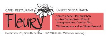 Unser Sponsor Café Fleury Richenthal