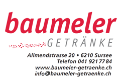 Unser Sponsor Baumeler Getränke Sursee