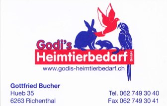 Unser Sponsor Godis Heimtierbedarf