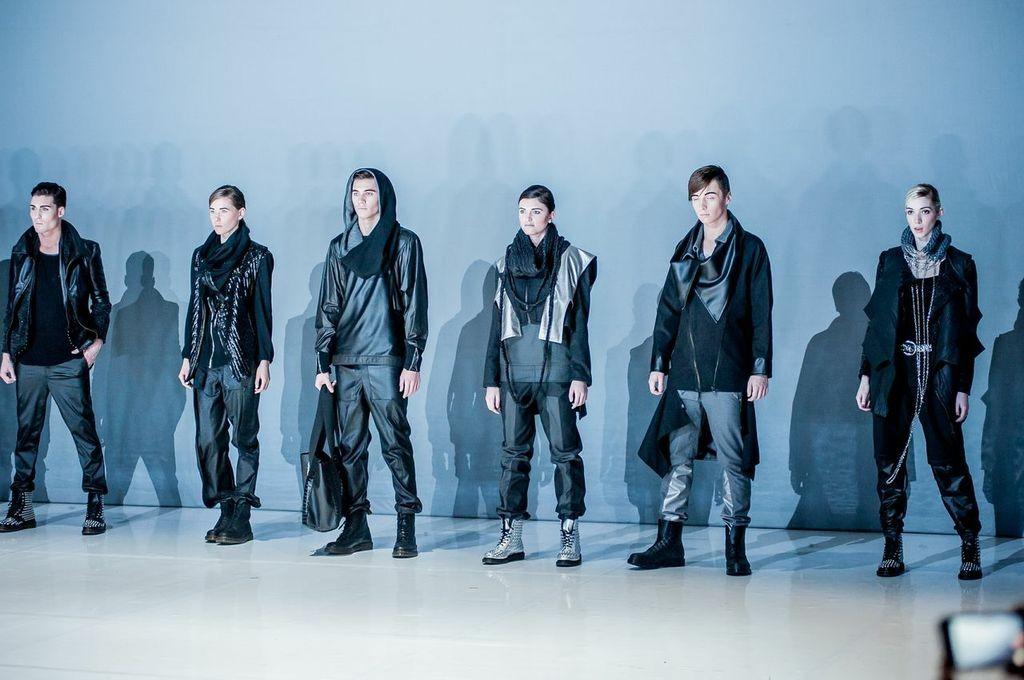EXIT Fashion Show 2014, Modedesign Lamia Aghezbour