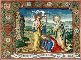 Grabado de la Resurrección de Jesús