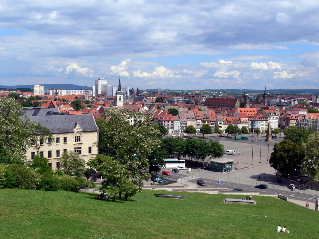 8                             Stippvisite in Erfurt