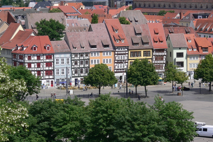 9                            Stippvisite in Erfurt