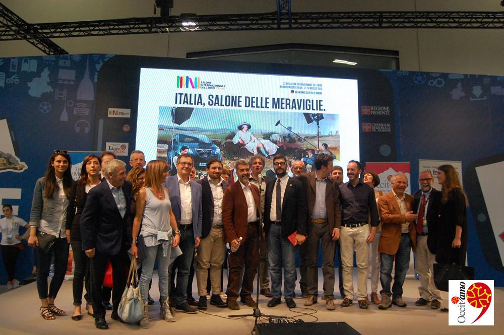 SALONE DEL LIBRO 2015: Presentazione Terre del Monviso e delle Valli occitane e Festival Occit'Amo