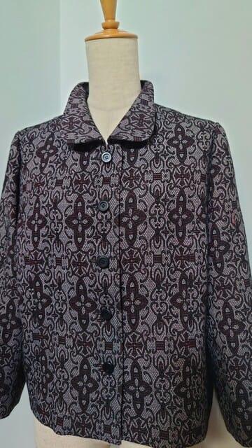 ウールの羽織りからジャケット