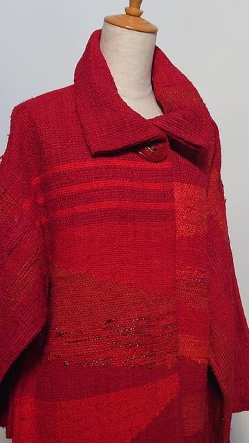 秋冬支度 手織り・裂織りが揃いました