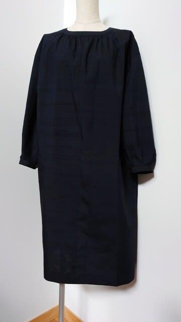 紬の着物からチュニック