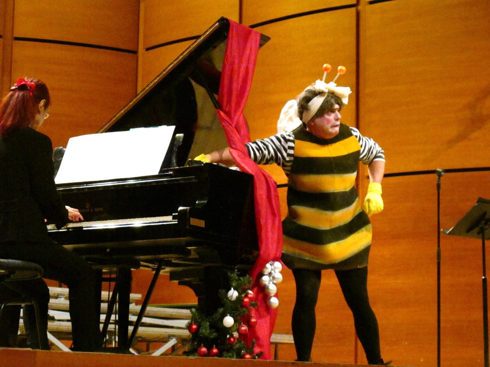 Vespina e il pianoforte