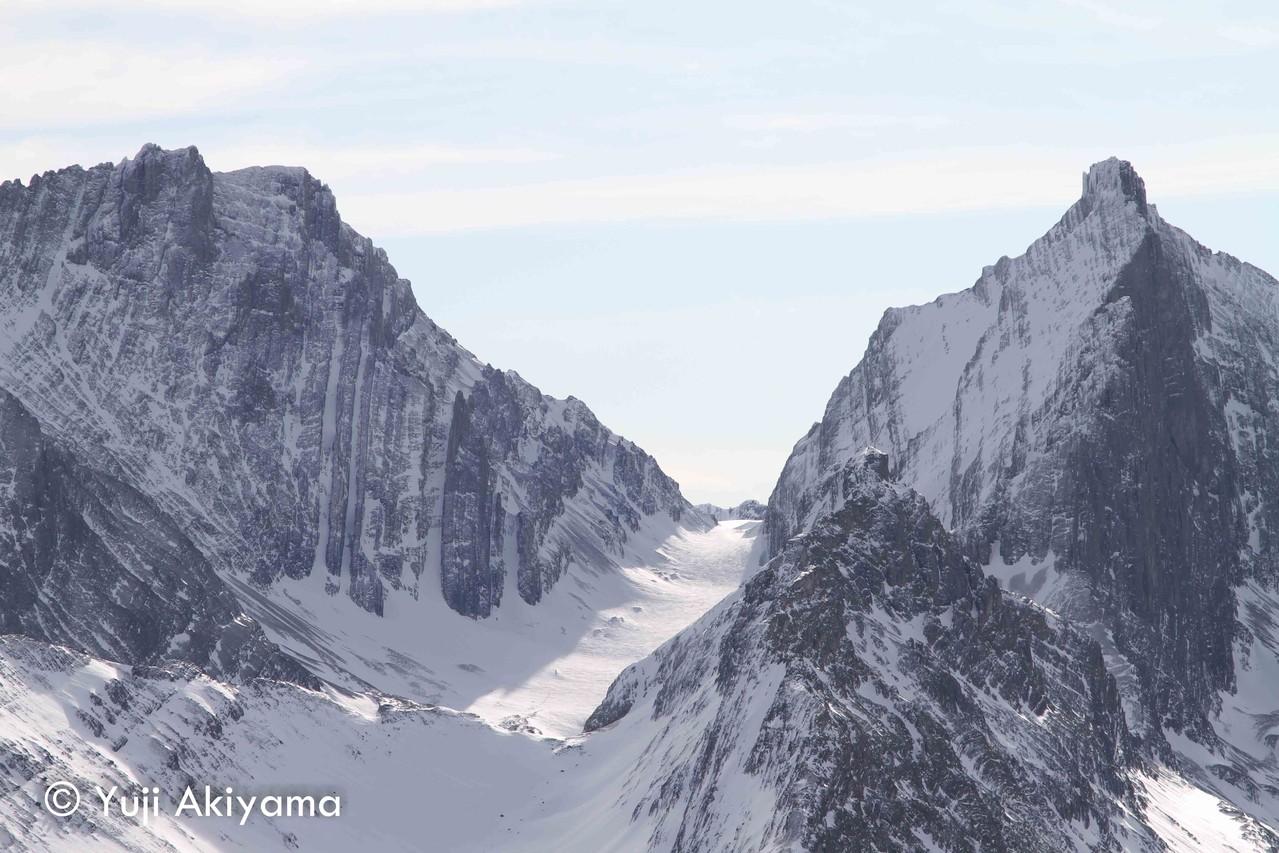 カナナスキス ロバートソン氷河