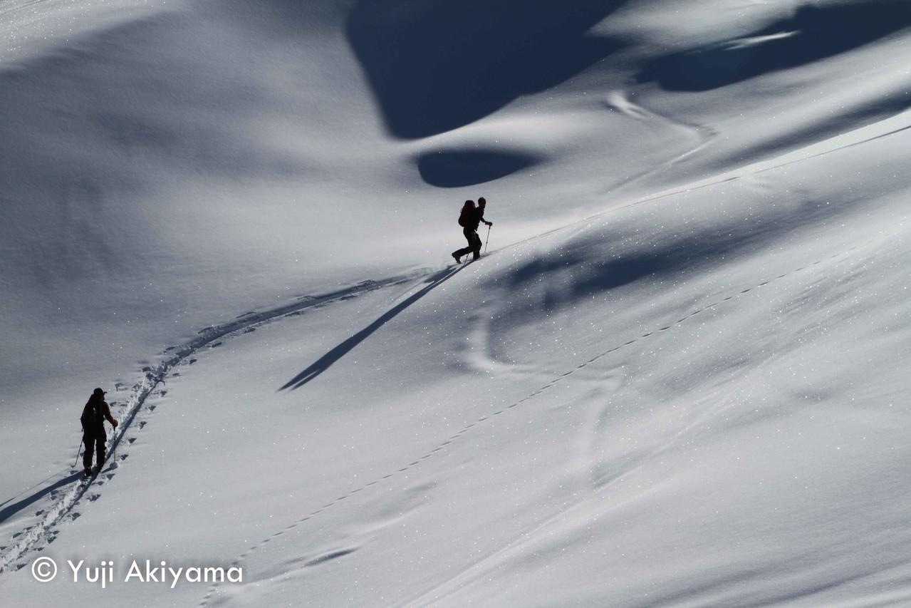 ボニー氷河へのアプローチ
