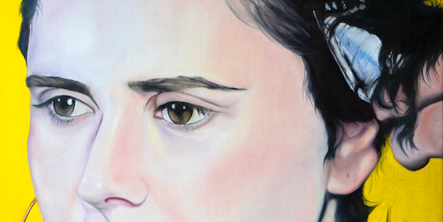 TAL Detail · 2020 · oil on linen 100X120cm