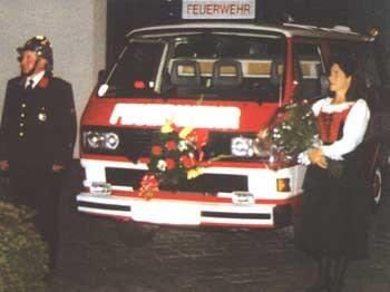 Fahrzeugweihe Kommando 1994
