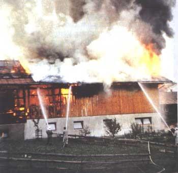 Brand Raunerhof 1981