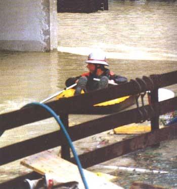 Überschwemmung 1987