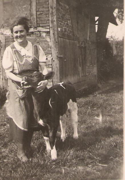 Sybille Pfahl geb. Schausten (1937/38)