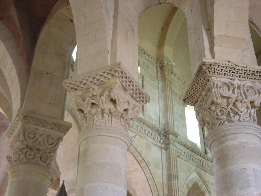Châpiteaux de l'église