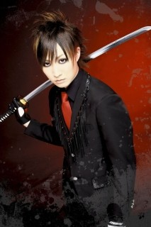 Hideki's Promotional Photo for Samurai Core