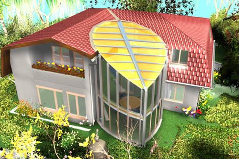 Architekturvisualisierung, Anbauten, Umbauten