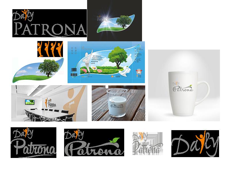 Logo-Creation für Daily Patrona die neue Inkontinenz Marke
