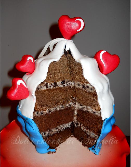 Interno cupcake gigante