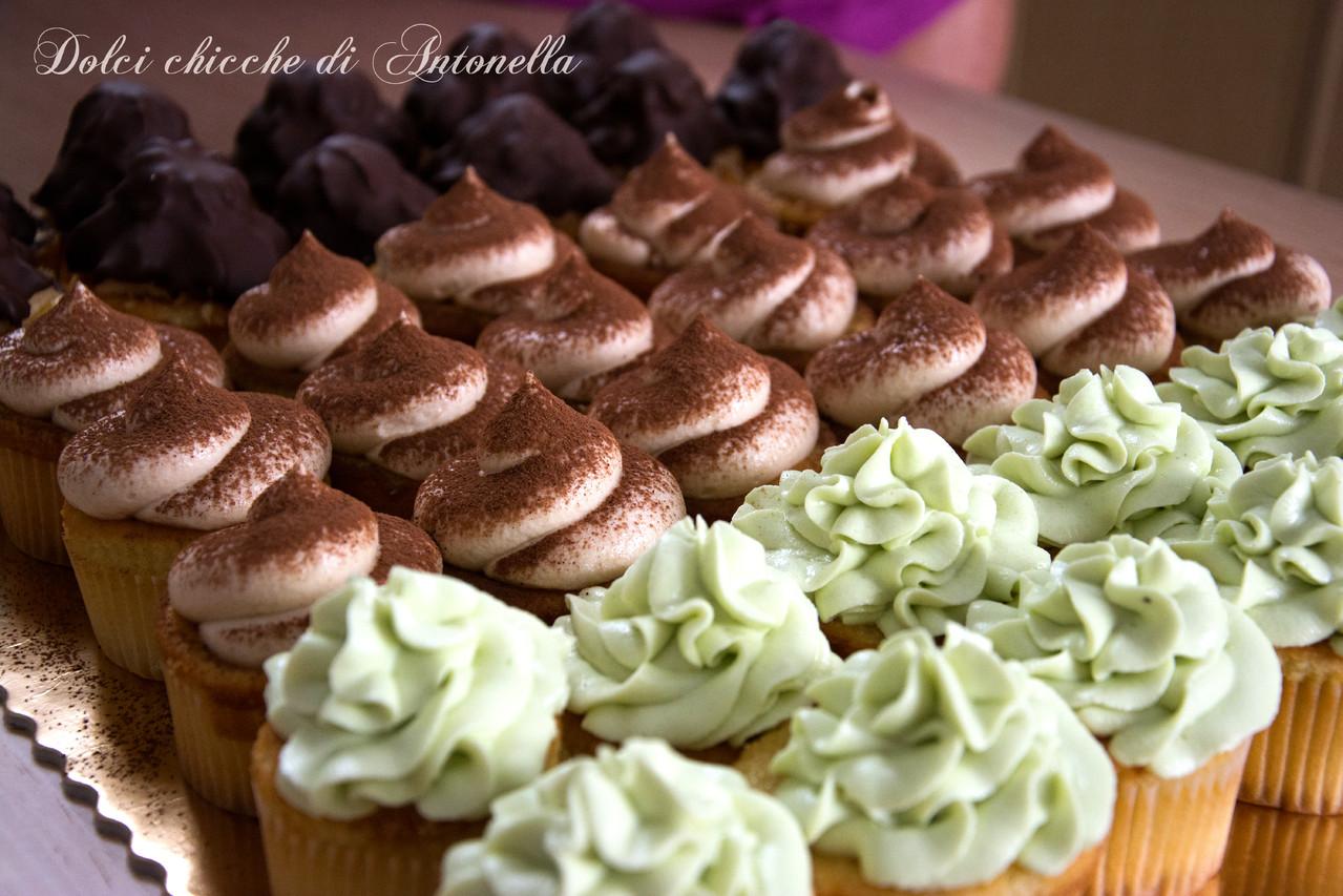 Cupcakes vari gusti, un'alternativa originale alla torta