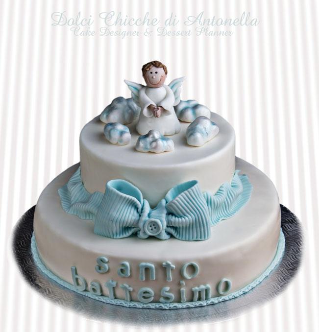torta battesimo-angeli-feste-dolci-la spezia-liguria-dolci-torte decorate-cake design