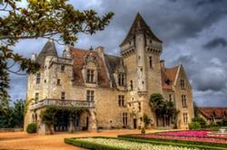 Le château des Milandes, en Dordogne