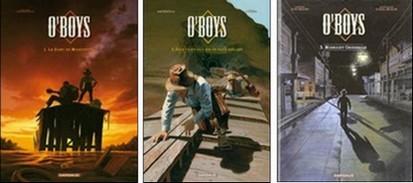 """O'boys"", BD de Steve Cuzor et Stéphane Culman, Dargaud 2009-2012"