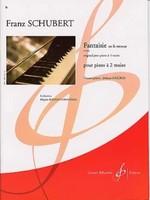 """""""Fred Randal m'a proposé de jouer à quatre mains avec lui. Il a apporté la partition de la fantaisie en la mineur de Schubert."""" (p.103)"""