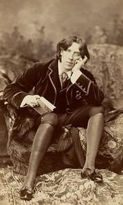 Oscar Wilde par Napoleon Sarony (1882)