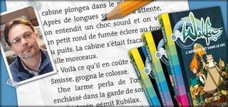 """Christophe Lambert est aussi l'auteur des romans de la série """"Wakfu"""""""