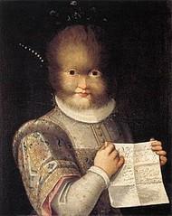 Portrait de Tognina par Lavinia Fontana, vers 1583 (château de Blois)