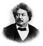 Alexandre Dumas (1802-1870), cliché de Charles Reutlinger