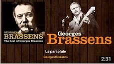 Georges Brassens ♪ Le parapluie ♫