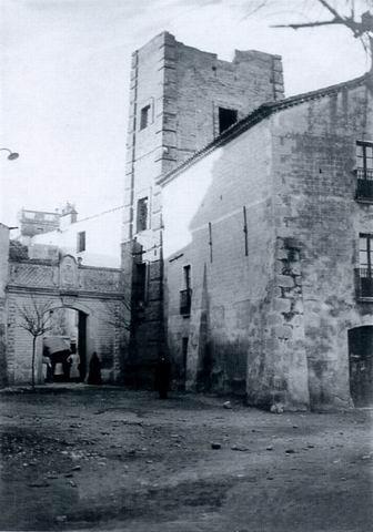 Torre del Casal dels Caramany abans