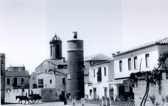 Antiga torre de l'aigua