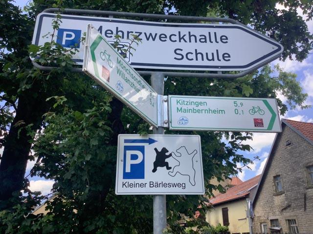 Bärleswege Mainbernheim - Regionalbudget 2021